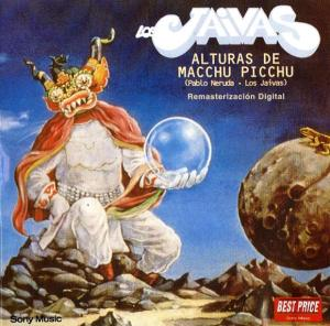 Los Jaivas-Alturas de Macchu Picchu. cover